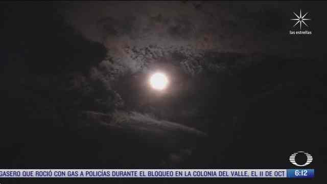 asi luce la luna del cazador en cdmx