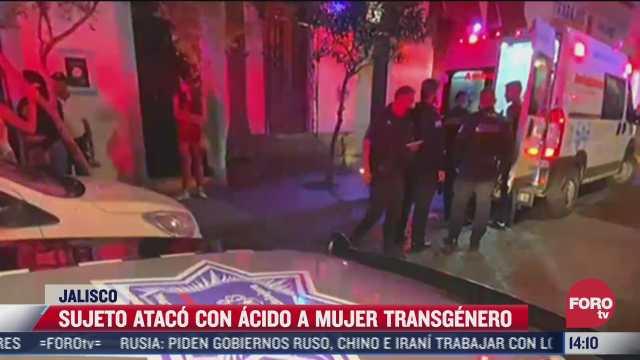 atacan a mujer transgenero con acido en guadalajara