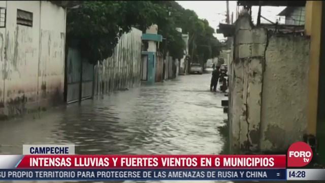 campeche sufre afectaciones por lluvias