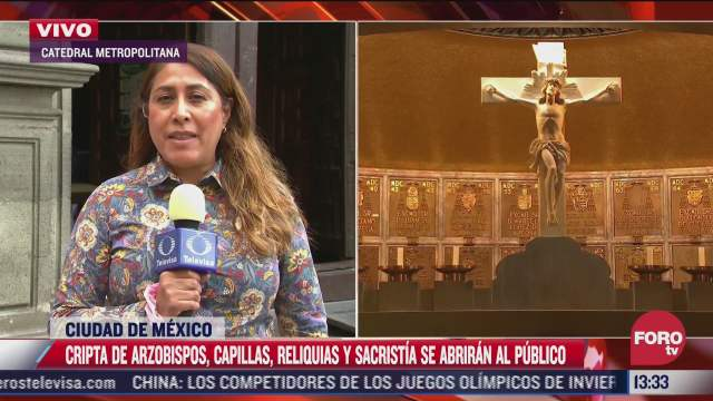 catedral metropolitana abre acceso a cripta de arzobispos