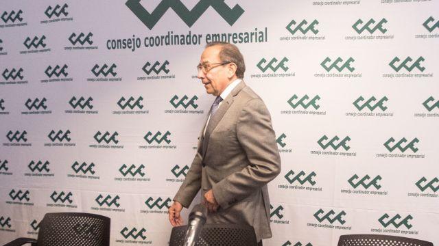 Carlos Salazar, presidente del Consejo Coordinador Empresarial (Cuartoscuro)