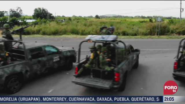 cientos de personas son desplazadas en michoacan y jalisco