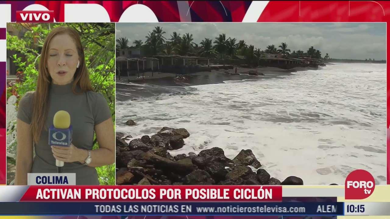 colima activa protocolos por posible ciclon