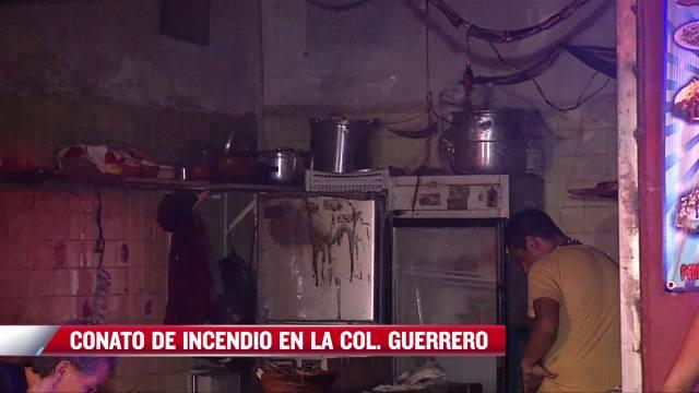 conato de incendio en taqueria provoca movilizacion de equipos de emergencia en cdmx