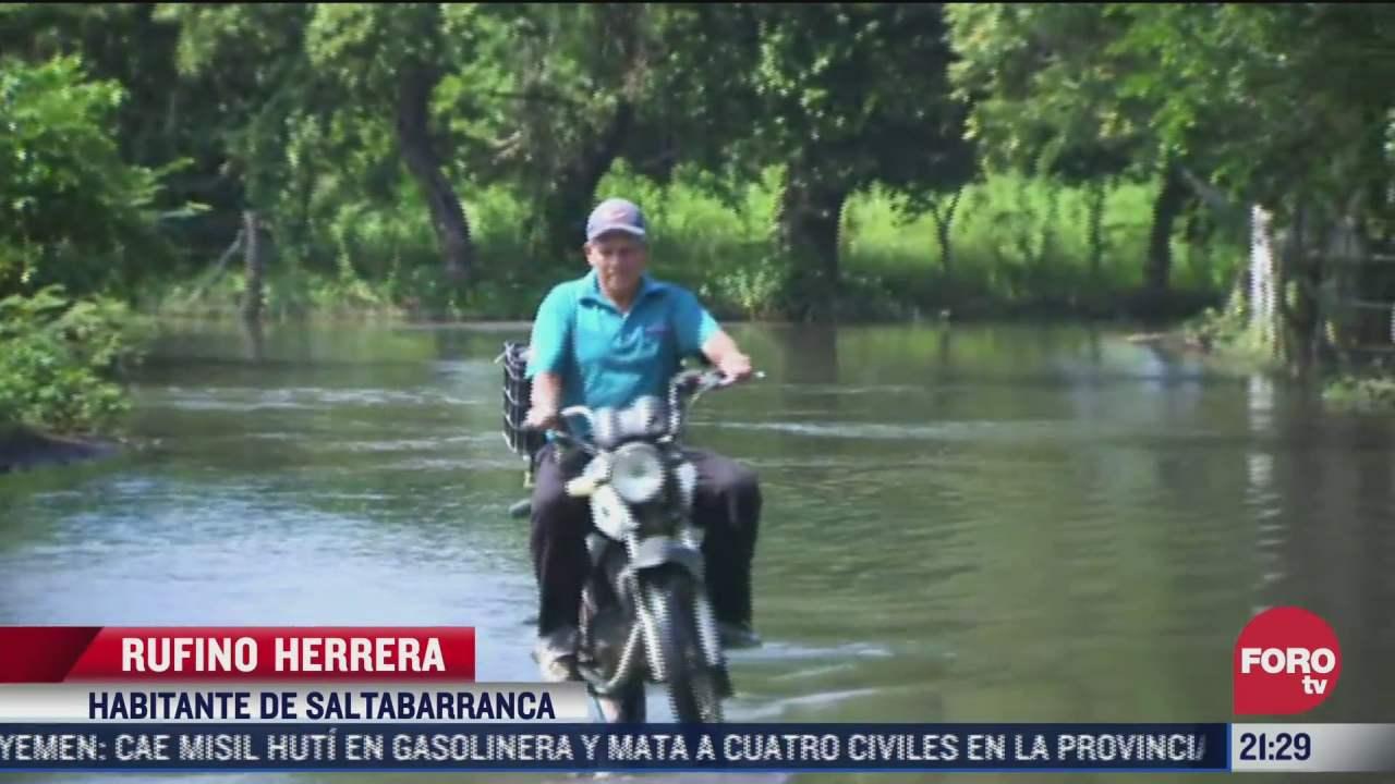 continuan incomunicados varios municipios en veracruz por inundaciones