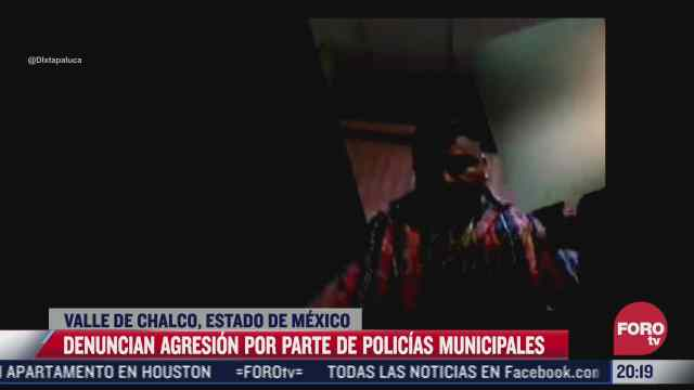 denuncian extorsion de policias municipales en valle de chalco