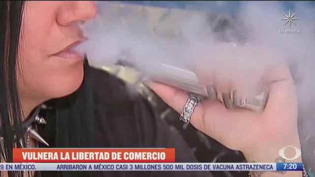 determina la scjn que es inconstitucional prohibir la venta de cigarros electronicos