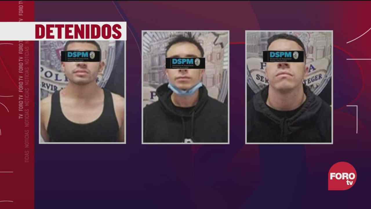 detienen a 3 asaltantes de tienda de conveniencia chihuahua