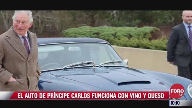el auto del principe carlos funciona con vino y queso