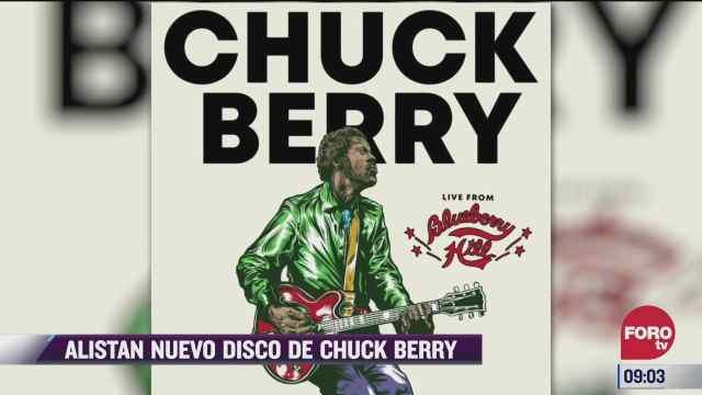 espectaculosenexpreso alistan nuevo disco de chuck berry