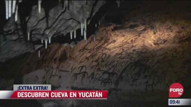 extra extra descubren mega cueva en yucatan