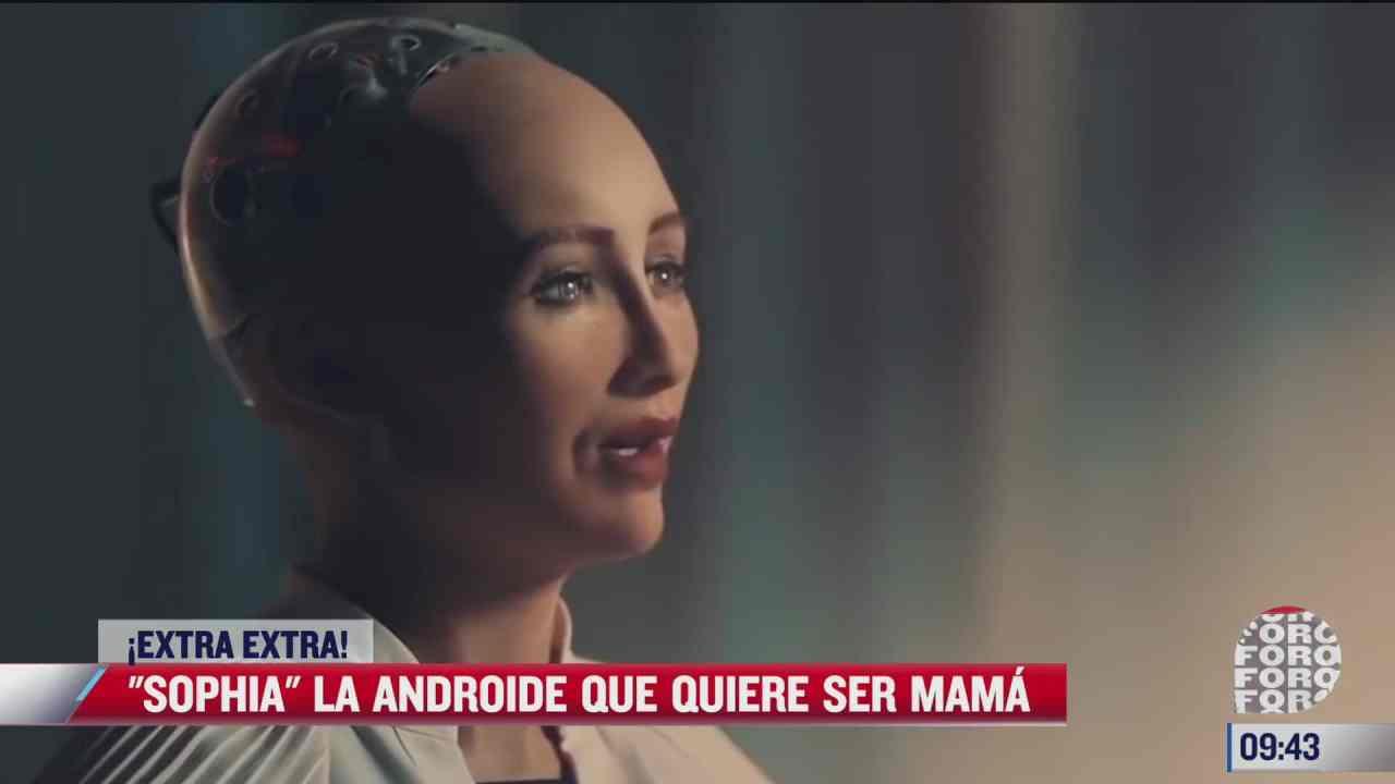 extra extra sophia la androide que quiere ser mama