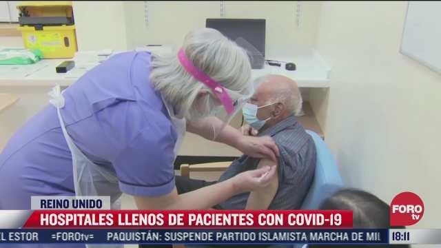 hospitales del reino unido llenos de pacientes con covid