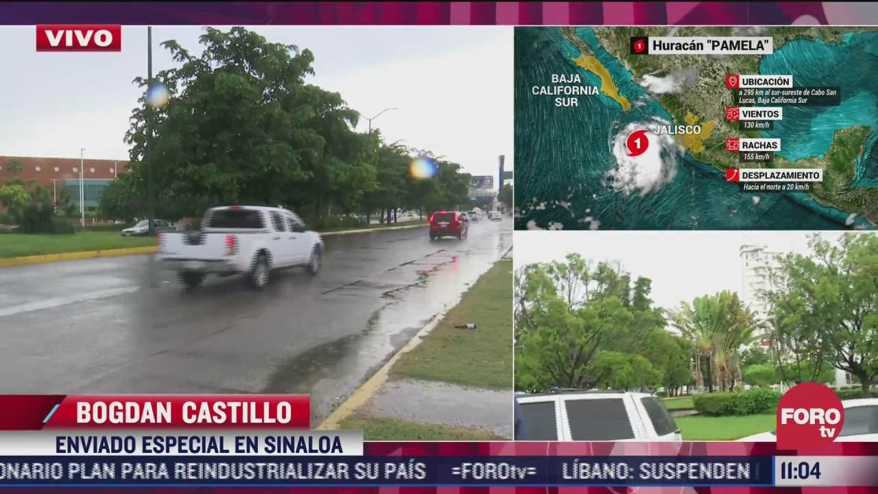 huracan pamela tocara tierra en las cruces en sinaloa