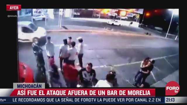 identifican a las seis victimas de balacera afuera de bar en morelia