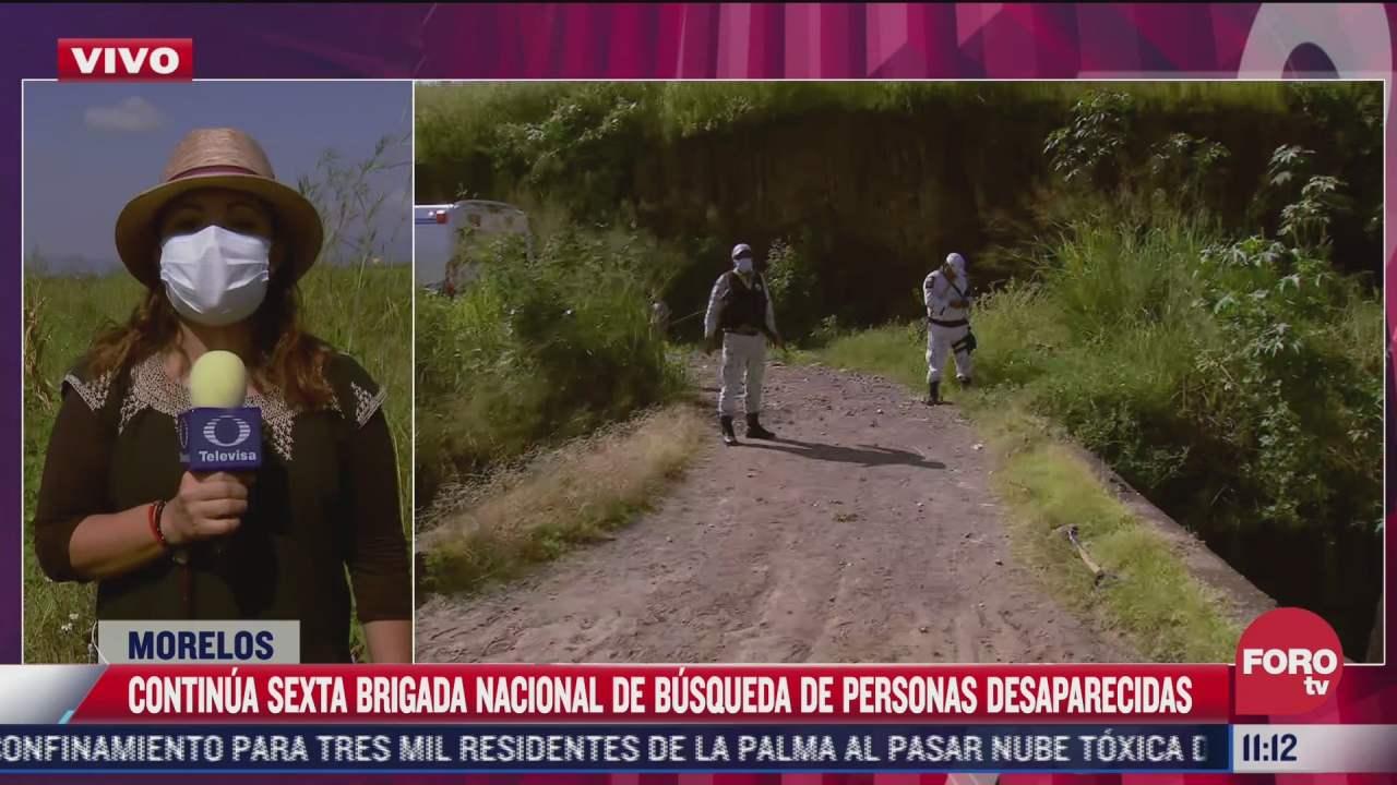 inicia segunda jornada de busqueda de personas desaparecidas en morelos