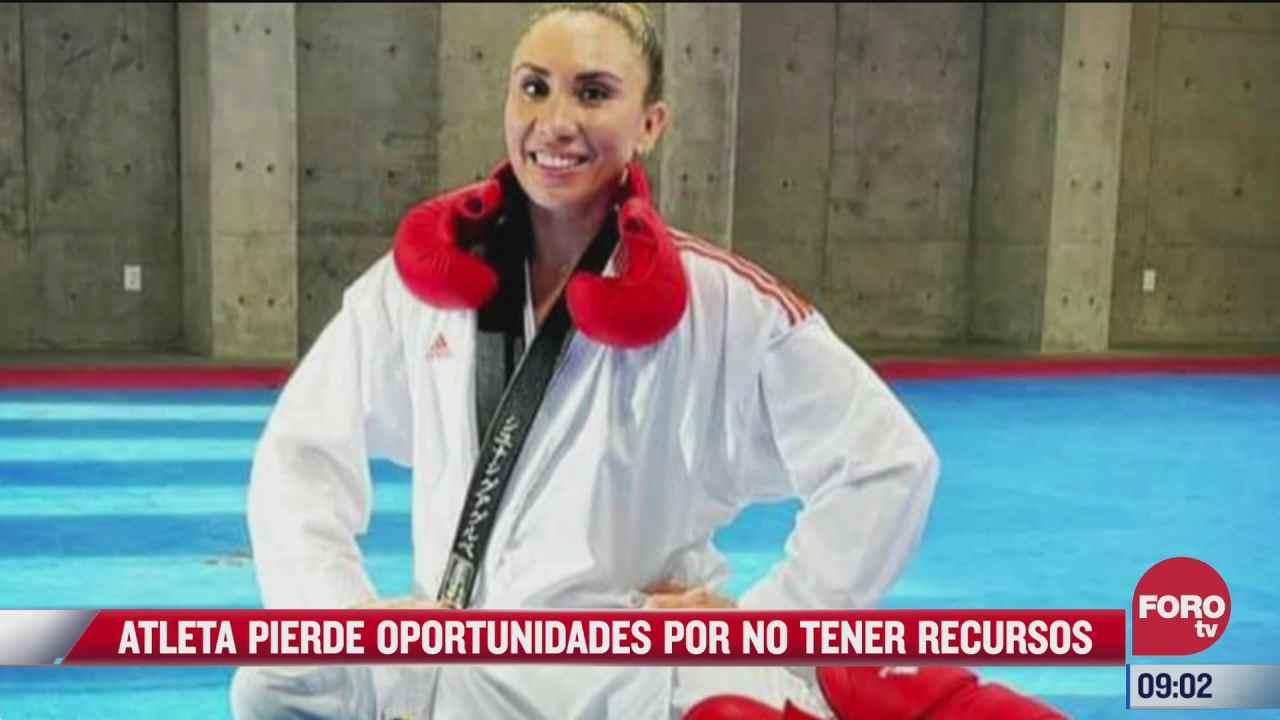 karateca mexicana vende su auto para poder asistir a campeonatos