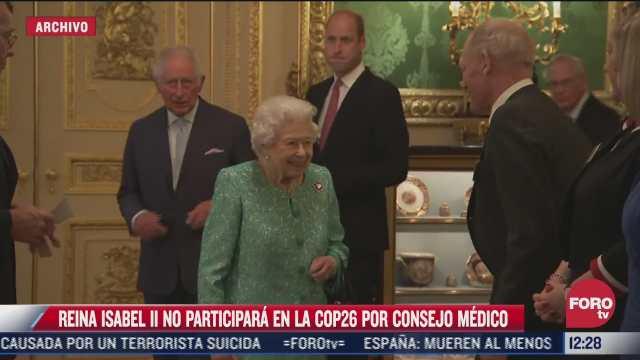 la reina isabel no participara en la cop