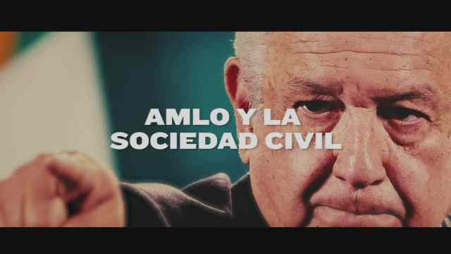 la relacion del presidente con la sociedad civil