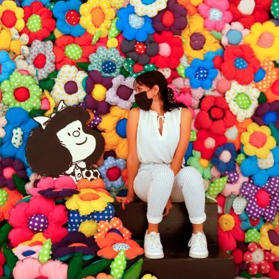 Exposición interactiva de Mafalda llega a Guadalajara, Jalisco