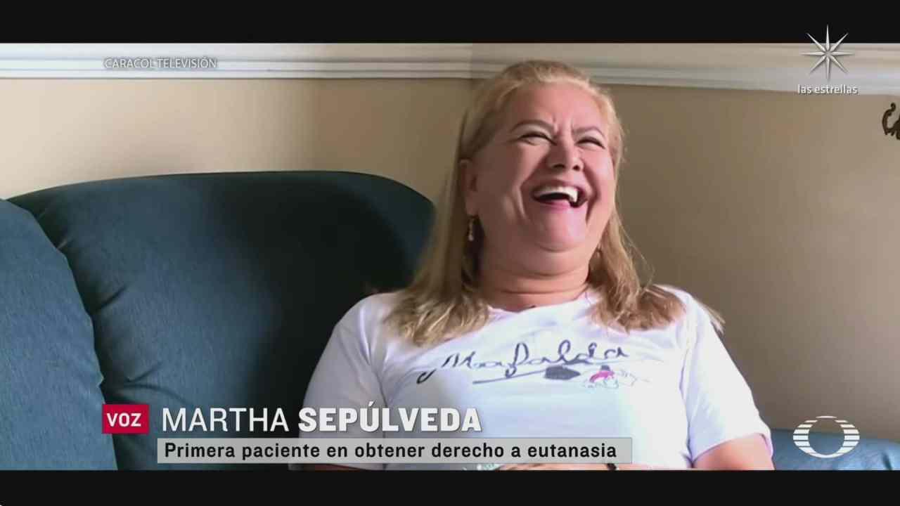 mujer colombiana primera en someterse a la eutanasia voluntaria