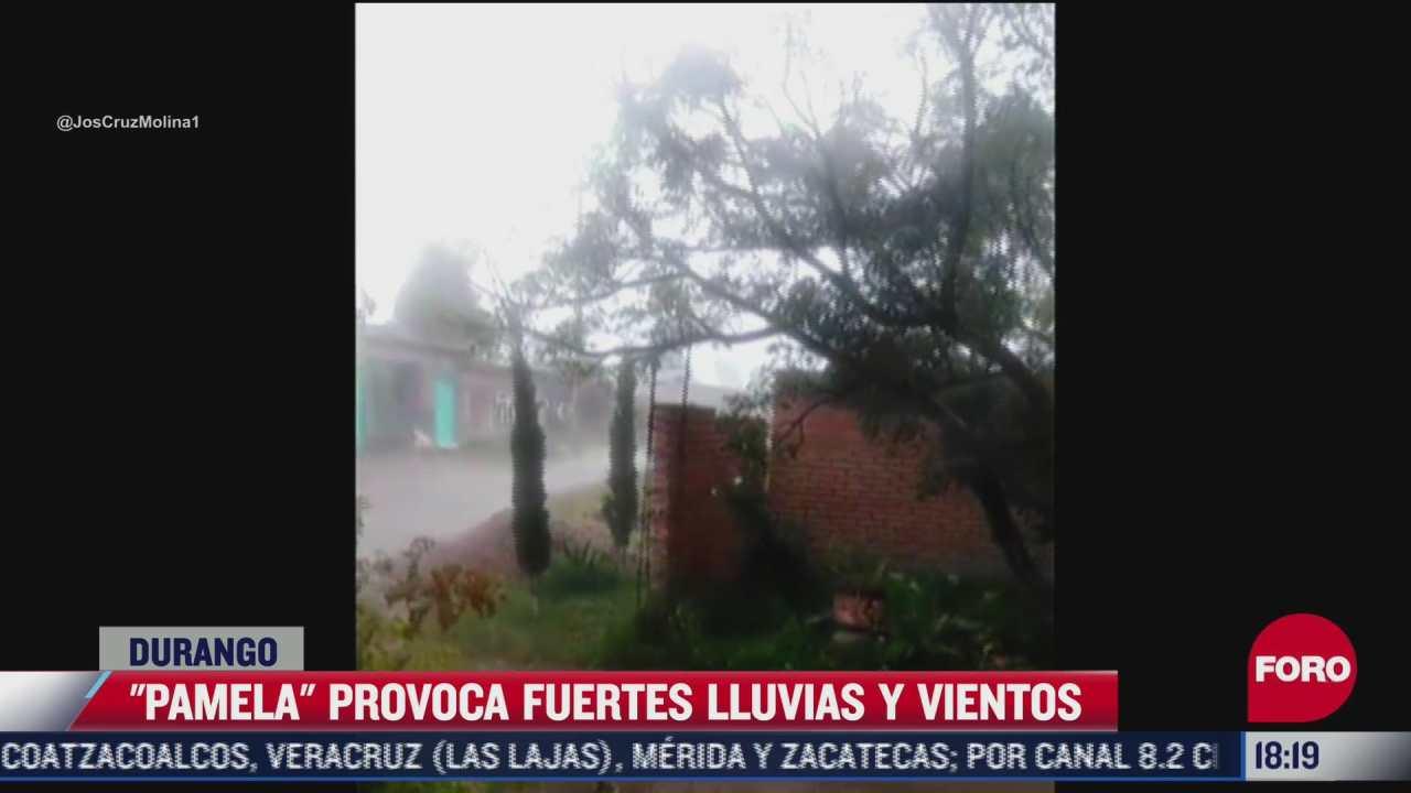 pamela provoca fuertes vientos y lluvias en mexico