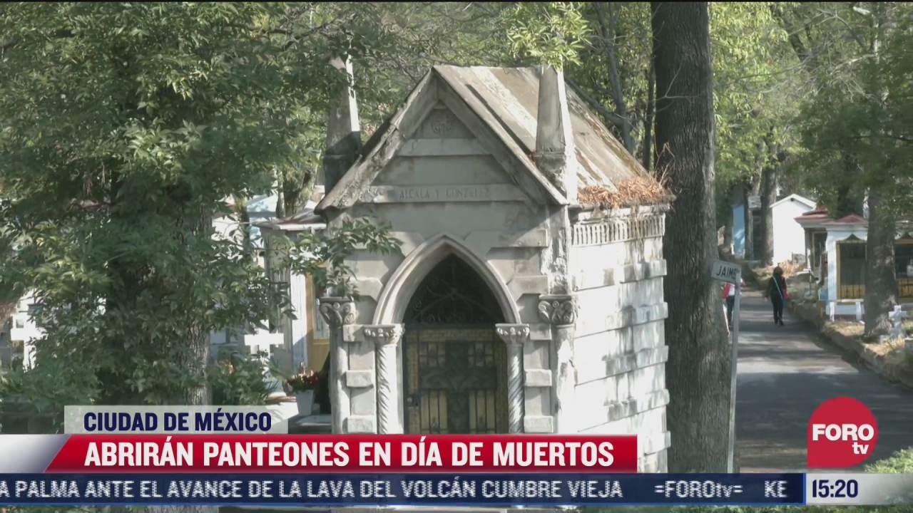 panteones de la cdmx abriran durante dia de muertos