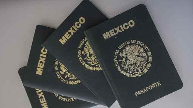 Pasaportes mexicanos