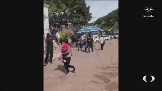 policias comunitarios se enfrentan con municipales en guerrero