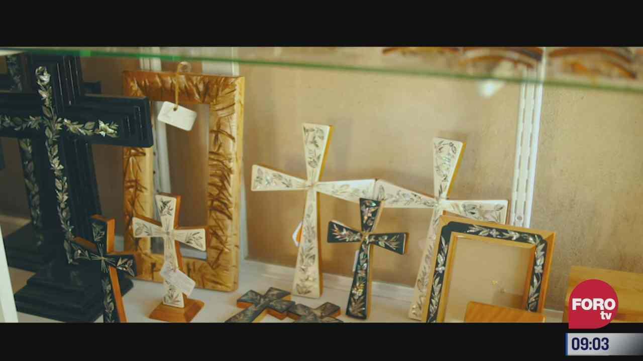 retratos de mexico la artesania de incrustaciones