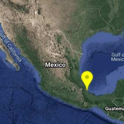 Se registra sismo de 4.0 grados en Veracruz