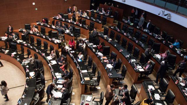 Sesión en Senado de la República (Cuartoscuro)