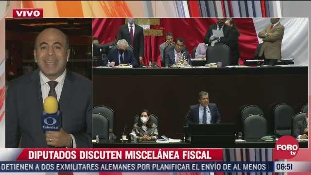 siguen sin llegar a acuerdo por miscelanea fiscal 2022 en la camara de diputados