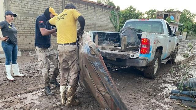 Sinaloa solicita declaratoria de emergencia para cuatro municipios tras paso de Pamela