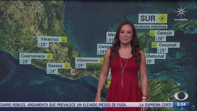 Onda tropical 38 provocará lluvias fuertes en México
