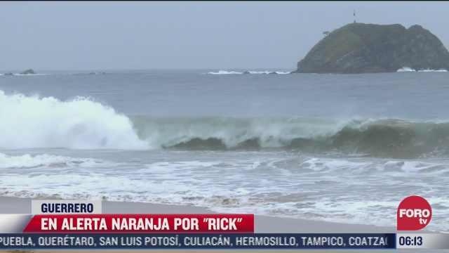 suspenden clases en varios municipios de guerrero por el huracan rick