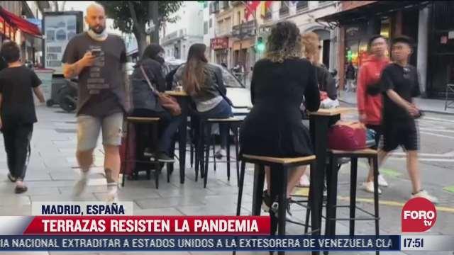 terrazas resisten la pandemia en espana