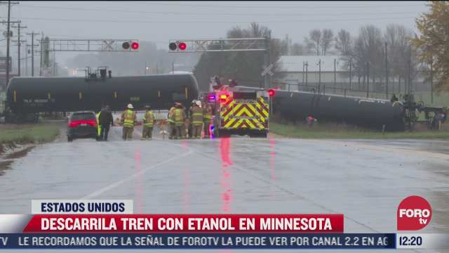 tren con etanol se descarrila en estados unidos
