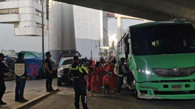 Se retiran manifestantes de Anillo Periférico a la altura de Luis Cabrera al Sur (Twitter: @OVIALCDMX)