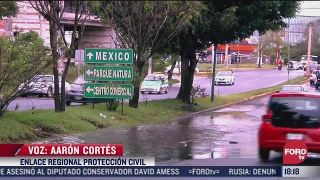 viviendas y calles afectadas por inundaciones en veracruz