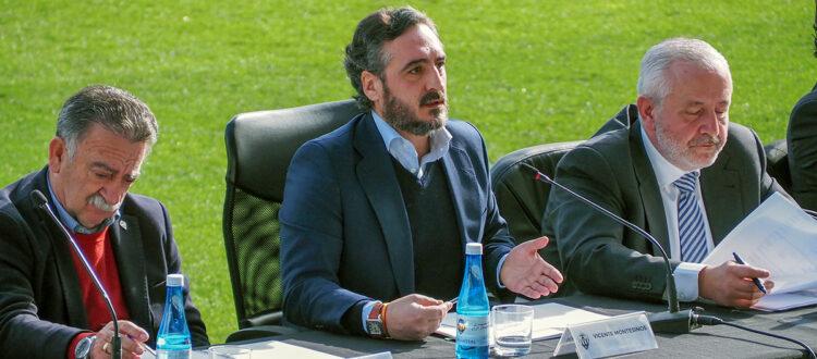 Montesinos (President del CD Castellon) «El nostre compromís segueix intacte. Volem arribar a el futbol professional, i com més aviat millor »