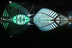 ciutat de les arts i les ciencies encesa verda
