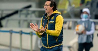 Unai Emery (tecnic del Villarreal CF) analitza l'empat davant el Maccabi Tel Aviv