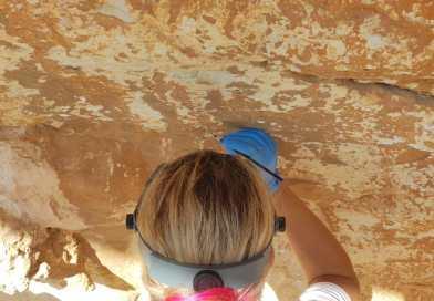 L'IVCR+i treballa a estabilitzar les pintures rupestres de la cova del Mançano de Xaló