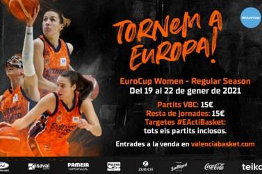 entrades eurocup women valencia basket