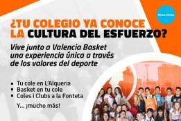 valencia basket cultura del esforç colegi