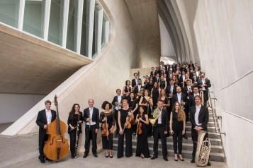 Palau de les Arts. Orquestra de la Comunitat Valenciana. Fotografía Miguel Lorenzo/Mikel Ponce