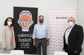 sharp patrocinador valencia basket
