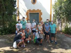 Grup de turistes a les visites guiades de Suera (1)