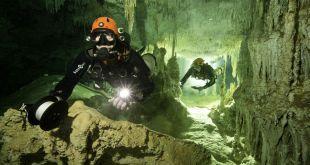 Así es la cueva submarina más grande del mundo descubierta en la península de Yucatán en México